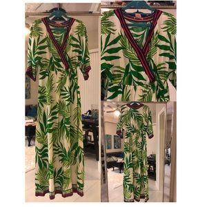 Island inspired maxi dress